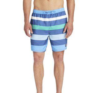 Men's Swimwear Prep Stripe Chappy Trunks XL